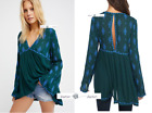 FREE PEOPLE  LARGE  Diamond Embroidered Top New Tags
