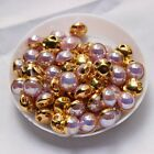 Sew on Pearl Purple AB Silver /gold claw 6mm/8mm 100pcs use for DIY accessories