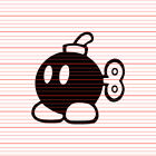 Bob-omb bomb Decal Sticker JDM Tuner Gamer car laptop Super Mario Odyssey Luigi