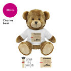 Personalised Name Graduation Charles Teddy Bear Gift Ideas Gifts for Him Her