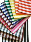 ASSORTED COLOURS - CANDY STRIPE PAPER SWEET FAVOUR BUFFET BAGS - 7x9 INCHES