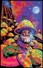 MUSHROOM MAN BLACKLIGHT Art Silk Poster 12x18 24x36 24x43