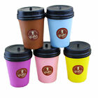 Cute Squishy Slow Rising Jumbo Coffee Cup Phone Charm Strap Kids Fun Toy Gift