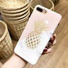 For iPhone 6S 7 Plus Pattern Ultra Slim Rubber Soft TPU Silicone Back Case Cover