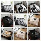 Dream scene Animal Print Faux Fur Mink Throw / Blanket Warm Fleece Bed Sofa King