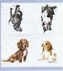 SERVIETTES EN PAPIER CHIENS DE COLLECTION RACES. PAPER NAPKINS DOGS COLLECTION