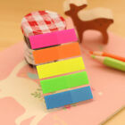 1 set Fluorescent Marker Colorful Page Memo Index Label Flag Sticky Note Pad