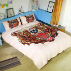 Twin Full Queen King Bed Set Pillowcase Quilt Cover oauR Scary Bear mzx
