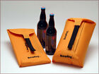 BrewHug Self Inflating Bottle Protector Holds 2 22 Oz Beers Insulates & Inflates