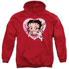 Betty Boop I Love Betty Pullover Hoodies for Men or Kids $24.74 USD