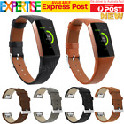 Replacement Leather Band Wrist Strap Watchband For Fitbit Change 2 Watch