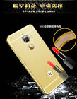 Aluminum Metal Frame Acrylic Mirror Back Cover For LeEco Le S3 Max 2 Cool 1 1Pro