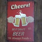 Vintage Signs Beer Metal Plate Painting Wall Poster Decor for Home Bar Poster VC