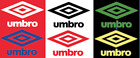 Umbro 70s 80s Felt Football Shirt Soccer Numbers Heat Print Football Vintage