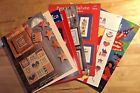 XStitch Pattern Booklets PATRIOTIC Patterns/Booklets FLAGS/HEROES/GOD BLESS