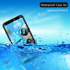 Redpepper-Waterproof Shockproof Hard Full Case Cover for Samsung Galaxy Note 8