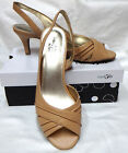 TAN SLINGBACK HEELS PUMPS by East 5th  New in box  SZ  9.5M  10M