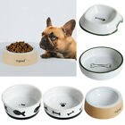 MagiDeal Pet Dog Cat Feeder Food Water Bowl Feeding Food Dispenser Ceramics