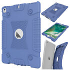 For iPad 9.7 2017 / iPad 5th Gen Kids Shockproof Hybrid Soft Silicone Case Cover