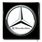MERCEDES LED 50cm x 50cm WALL LIGHT BADGE TRUCK LOGO CAB MAN CAVE SIGN + REMOTE