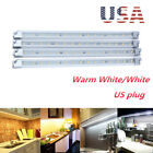 led under counter lighting strips - 4x Kitchen Under Cabinet Counter Lighting LED Showcase Strip Light Fixture Lamp
