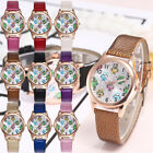 Cute Owl Womens Faux Leather Band Analog Quartz Round Wrist Watch Ladies Watches