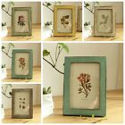 Pop Photo Picture Frame Vintage Antique Shabby Chic Choice 5 Colours Solid Wood