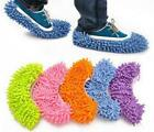 Microfiber Slippers Floor Cleaning Shoes Dust Slipper Washable House Mop Wipe