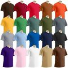 Gildan Plain t shirts Solid Cotton Short Sleeve Blank Tee  image