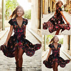 Women Long Boho Maxi Evening Party Dress Chiffon Dress Summe