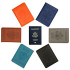 Внешний вид -  Passport Holder PU Leather  Cover Case Protective RFID Blocking Wallet Case