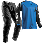 NEW THOR MX 2018 SECTOR ZONE BLACK BLUE Youth Jersey Pant Outfit Moto Gear Kids