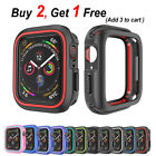 PASBUY 37C Soft Silicone Watch Protector Cover case for Apple Watch Series 3 2 1 image