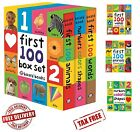 3230645485254040 1 - Toddler Learning Book My First 100 Board Book-Words, Numbers, Animals