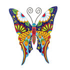 metal dragonfly garden art - Colorful Metal Mexican Talavera Style Garden Wall Art, by Collections Etc