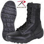 """Lightweight V-Max Tactical Boots - Rothco Black 8.5"""" Field Duty Work Boot"""