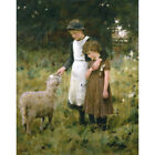 The Orphans - G S Knowles Print