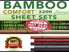 2200 COUNT BAMBOO ULTRA COMFORT DEEP POCKET- 4pc SET- QUICK SHIPPING!! image