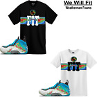 weatherman t shirt - WeWillFit shirt match Air Foamposite One PRM Weatherman Thermal all star galaxy