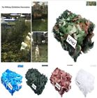 Camouflage Net Hide Hunting Military Army Woodland Camping Kids Home Decoration
