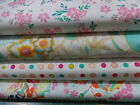 ART GALLERY FUSIONS QUILTING FABRIC FAT QUARTERS- 4 DESIGNS.100% QUALITY COTTON