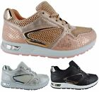 LADIES WOMENS BALI RUNNING SPORT GYM FITNESS WALKING LACE UP TRAINERS SHOES SIZE