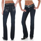 Womens Wrangler Shiloh Low Rise Boot Cut Rodeo Sparkle WRS40RK