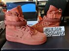 Nike SF AF1 Special Forces Field Air Force 1 One Dusty Peach Mens 864024 204