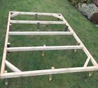 WOODEN TIMBER SHED BASE PRESSURE TREATED - Tanalised Anti Rot Hut Frame