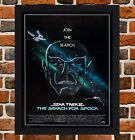 Framed Star Trek The Search For Spock Movie Poster A4 / A3 Size In Black Frame on eBay
