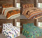 Luxurious Western Horse & Dream Catcher 3pc Quilt Bedspread Comforter Set image