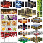 3-5 Panel Picture Wall Art Oil Painting Print Canvas Modern Home Room Decor Gift
