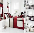 NEW Luxurious PANAMA Duvet / Quilt Cover And Pillowcases Bedding Set