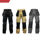 Mens Workpants Workwear Trouser Cordura Knee Reinforcement Utility Work Pants